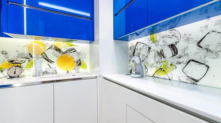 Panele szklane kuchenne z fotofolią